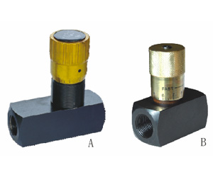 L/LA Needle valve/1-way restrictive valve